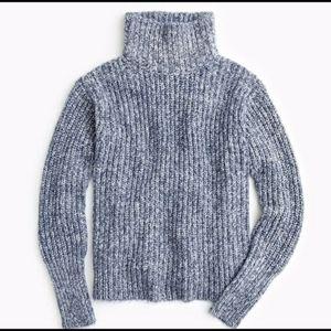 NWT J Crew Cozy Turtleneck sweater Large Sz XXS